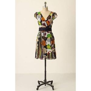 Anthro Moulinette Soeurs Pins And Polkas Dress